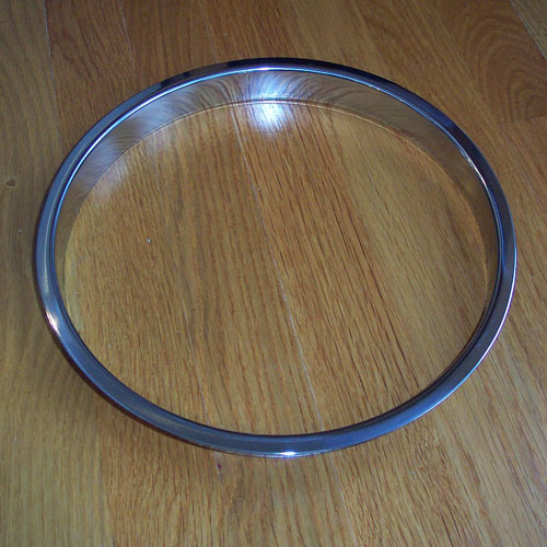 10 Quot X 1 Quot Polished Stainless Steel Trash Grommet
