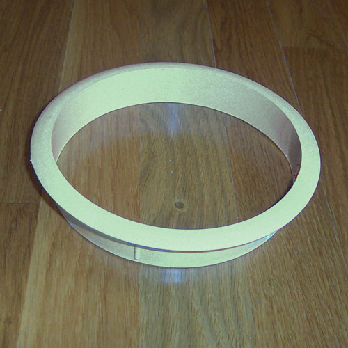 Satin Stainless Steel 10 Inch X 3 Trash Grommet