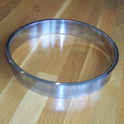 6139 100 X 11 16 Stainless Steel Grommet Trash